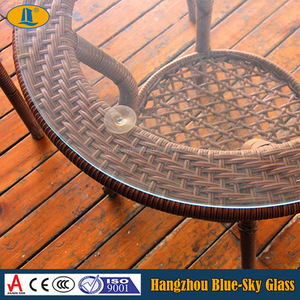 5mm 6mm 8mm furniture tempered glass for coffee table top good quality new design