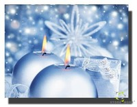 New design dreamlike Crystal Candle art with LED/LED picture decor