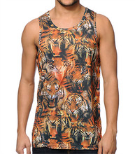 Cheap price high quality fashion beach style new design mens tank top