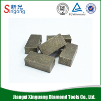 Concrete cutting diamond saw blades cutter segment