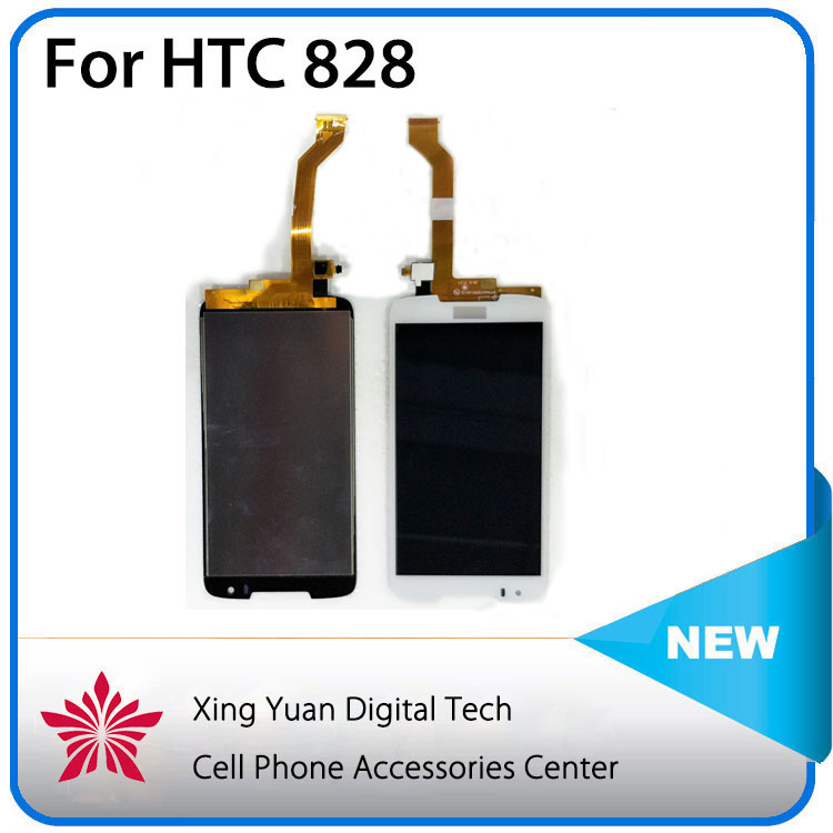 Competitive price AAA+ lcd touch screen for HTC Desire 828 dual sim with one year warranty