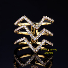 SAR7082 China Jewelry Wholesale Value 925 Solid Silver Diamond Ring, Plain Silver Ring