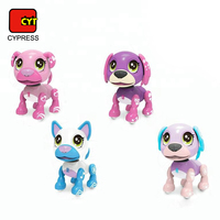 pocket robot dog interact intelligent toy with dance