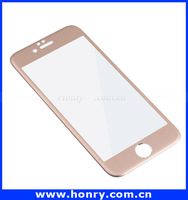 Wholesale mobile phone 9h Milo 0.3mm Colorful Tempered Glass Screen protector/film for iphone 6
