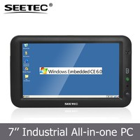 SEETEC embedded lcd display 800*480pixels resistive touchscreen 7