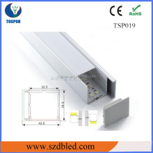 UL rated LED rigid bar/aluminum corner profile for strip light