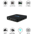 Cheapest android 7.1 Nougat tv box 2GB+8GB rk3328 QINTAIX android tv box Q28 4K full hd media player