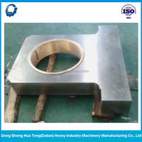 Large machine parts cnc machining/big steel plate machining