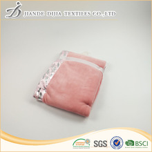 Custom 100% polyester 2 layer micro mink baby blankets china