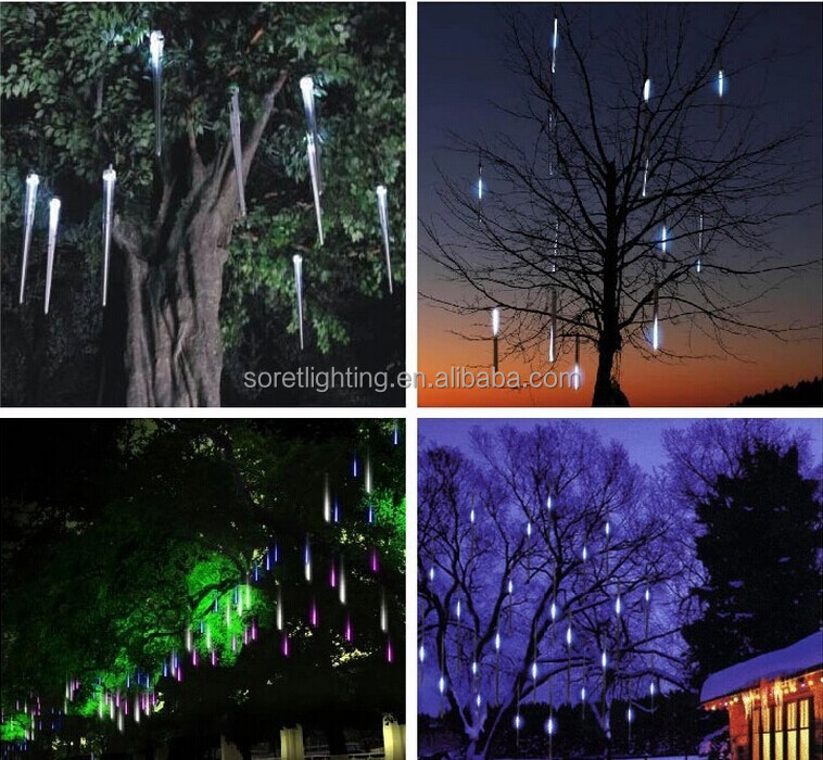 3528 CE RoHS LED Rain Effect Meteor Shower Hanging Tree Light