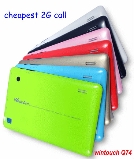 7 inch 2g sim slot tablet 2013 hot wholesale product