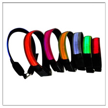 new custom promotion soccer fans products led arm band for party