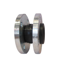 Flange Connection Single Sphere Galvanized Rubber Expansion Joint