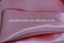 good quality 100% Polyester Satin fabric textile for garment