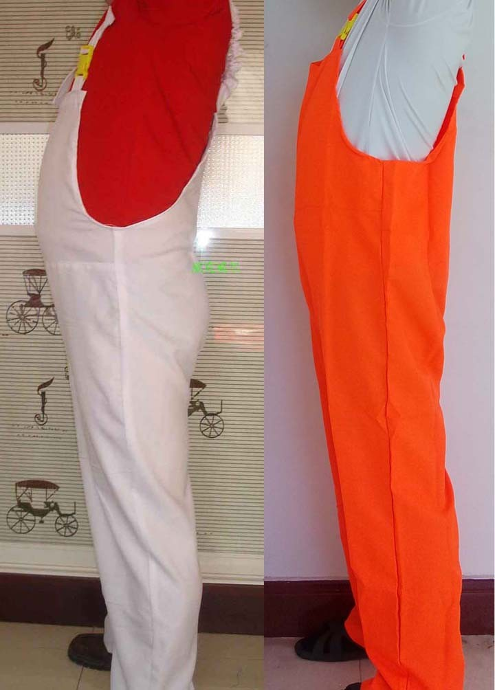 super mario overall cosplay bib pant