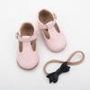 Hot selling style first step shoes cute baby girl t bar dress shoes
