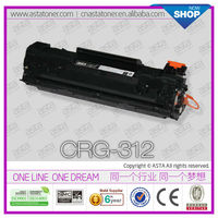 high profit margin products CRG 312,712,912 BK toner for canon ink at canon