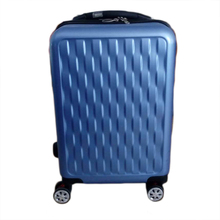 USB Charging interface pilot smart luggage trolley case with GPS tracker and scale