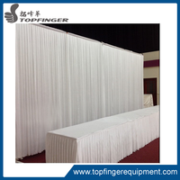 chiffon drape for wedding decoration