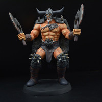 realistic online game character action figure
