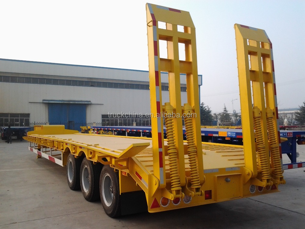 CHINA low bed trailer dimensions