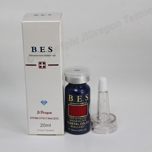 Jilong BES Tattoo Ink Pigment Permanent Make up Tattoo Ink for Eyebrow Lips