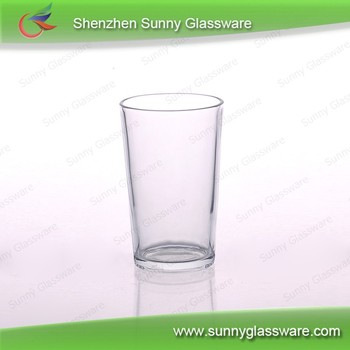 200ml Cylinder water glass tumbler for promotion
