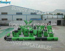 5 man 23pcs xtreme package outdoor millennium Inflatable paintball bunkers field