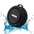 outdoor sport waterproof ipx4 speaker with carabiner
