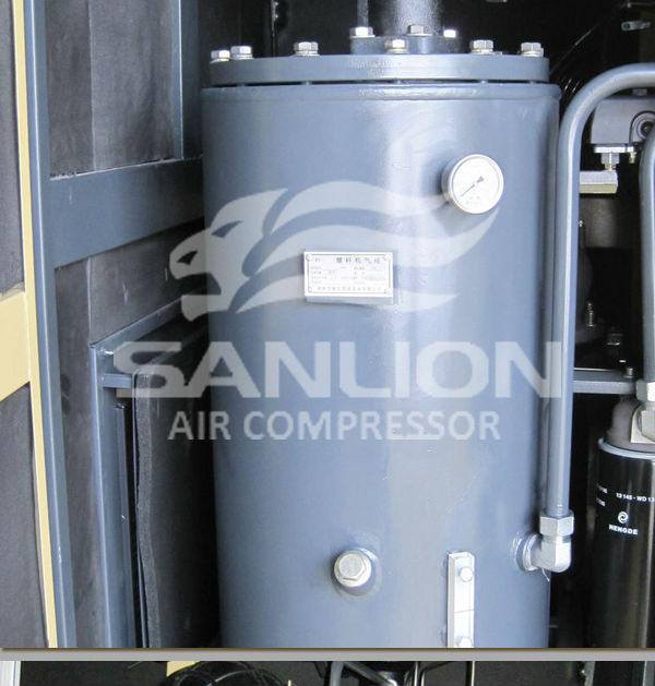 37KW 8bar air rotary screw air compressor made in German CE