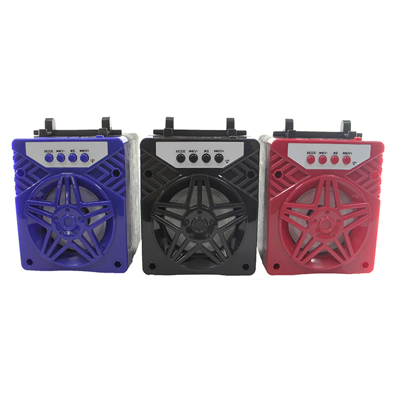 Fashion design wireless promotion item MW-400 fabric bluetooth <strong>speaker</strong> with fm radio