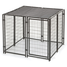 Easy assemble and easy cleaning dog kennel with ISO certificate