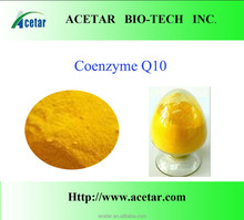.High Quality Fermentation Natural 99% Coenzyme q10 in cosmetics