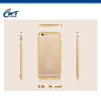 Special Mobile Phone Case For iPhone 6,Metal Aluminum Chrome Hard Back Case for iphone6
