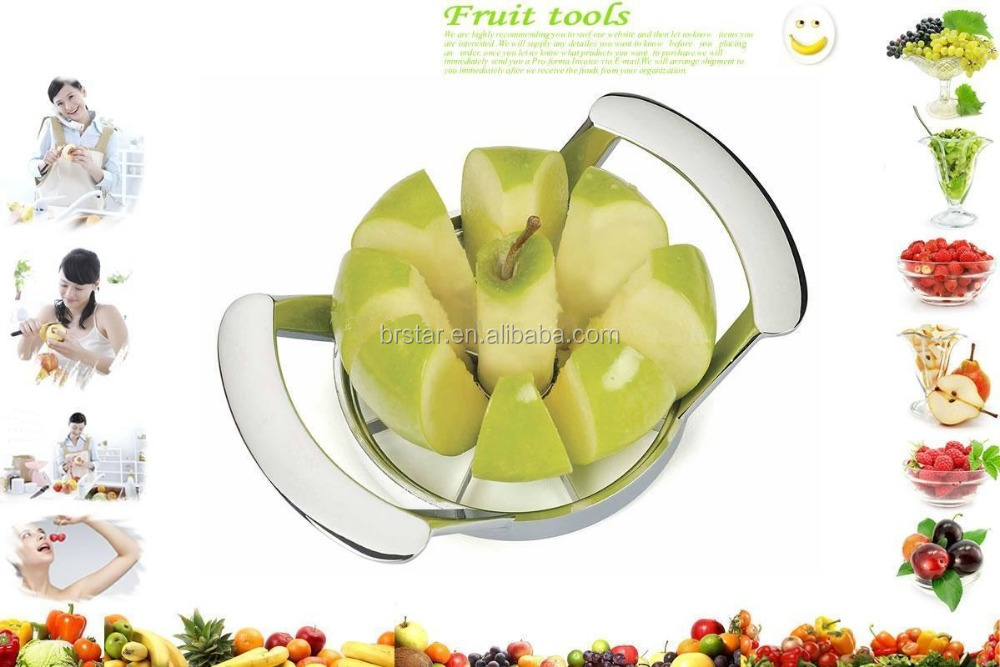 BR237 manual zinc alloy fruit cutter / apple cutter