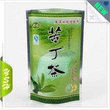 custom porinted plastic stand up aluminum foil forempty empty nylon pyramid organic green tea packaging bags