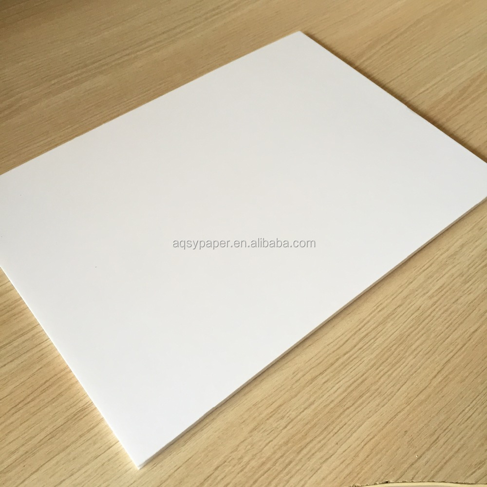 White color paper foam sheet board wholesale