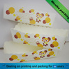 Natural brown craft paper hotdog food tray paper packaging design