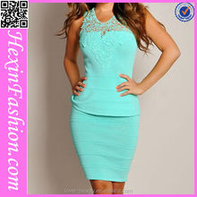 Fast Delivery Latest Celebrity Bandage Bodycon Dress Wholesale