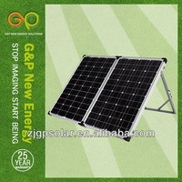 Mono Foldable solar panel for camping solar power system