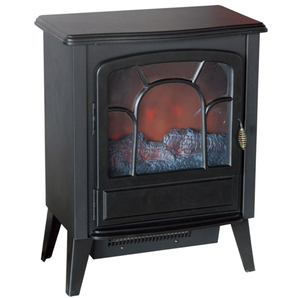 Small Electric Stove,Mini Freestanding Electric Fireplace ...