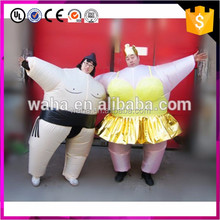 Artis Inflatable Sumo Wrestler Fancy Dress Costume Fat Suit
