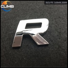 ABS 3D Car Sticker Design, Car Emblems and Letters, Led Sticker