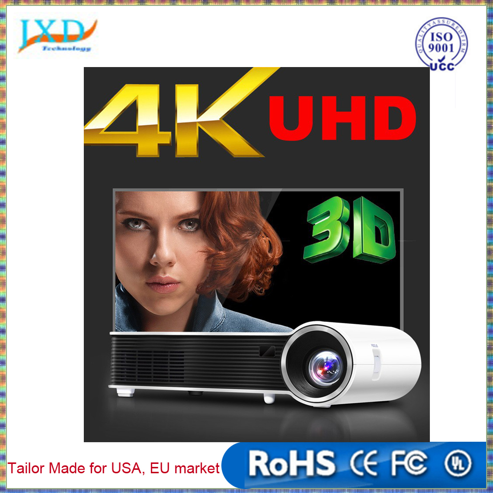 Full HD 1080P 4K Mini Home Theater DLP Projector 3D Wifi LED Quad Core