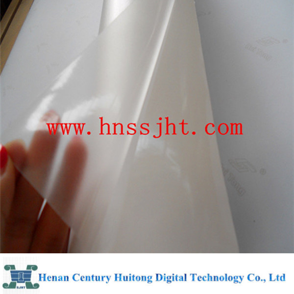 glossy cold lamination self adhesive transparent vinyl film