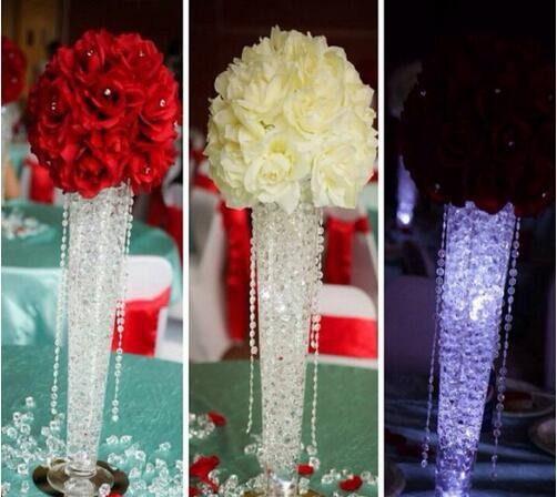 Hot 30m 10mm Acrylic Beads String Curtain DIY Wedding Party Decoration