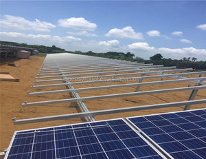 Wholesale Solar Ground Mounted Structure and Solar Ground Panel with Solar Mount Racks