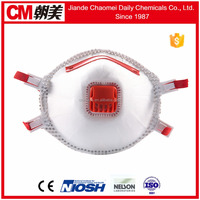 CM Disposable factory direct selling adult size 3 ply bacteria virus and pollen defense mask