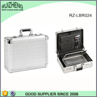 China factory produce aluminum laptop briefcase