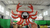 inflatable Halloween crab decoration